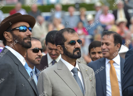 (C) Sheikh Mohammad Bin Rashid Al Maktoum after Dutch Connection  wins The Qatar Lennox Stakes on Day 1 of The Qatar Goodwood Festival Meeting at Goodwood Racecourse on Tuesday 26th July 2016.