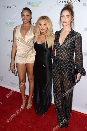 Bria L Murphy, Ashley Tisdale and Janet Montgomery