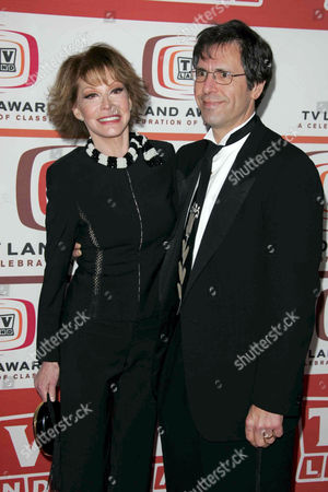 Mary Tyler Moore and her husband Doctor Robert Levine