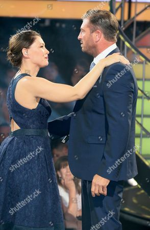 Emma Willis and Jason Burrill
