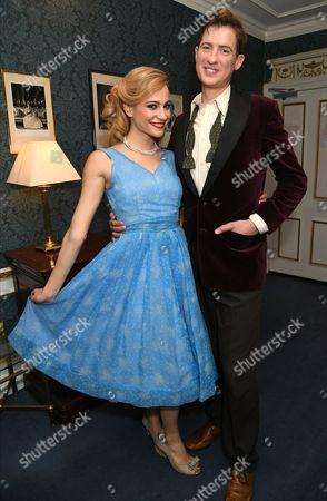 Pixie Lott and Matt Barber