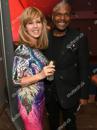 Kate Garraway and Anton Stephans