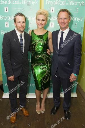 Nikolai Foster (Director), Pixie Lott (Holly Golightly) and Colin Ingram (Producer)