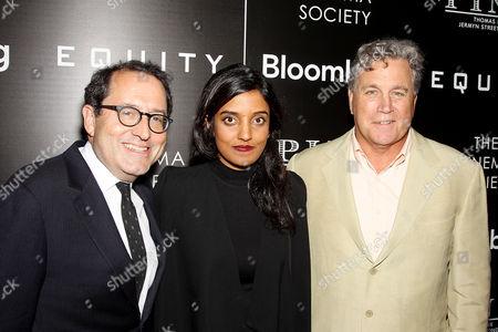 Michael Barker (Co-Pres. SPC), Meera Menon (Director), Tom Berna