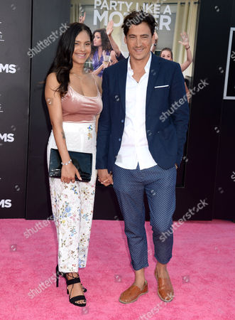Andrew Keegan and Arista Ilona