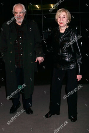 Stock Picture of Louis Zorich and Olympia Dukakis