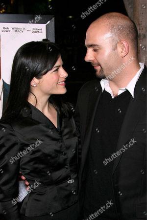 Selma Blair and Ahmet Zappa