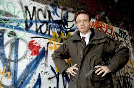 Teacher Francis Gilbert who has written a book called 'Yob Nation'
