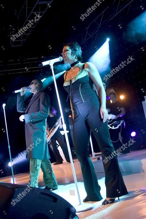 The Human League - Phil Oakey and Joanne Catherall