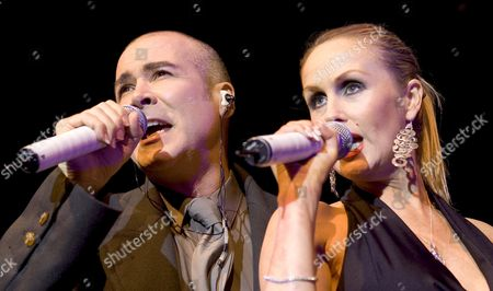 The Human League - Phil Oakey and Susan Ann Sulley