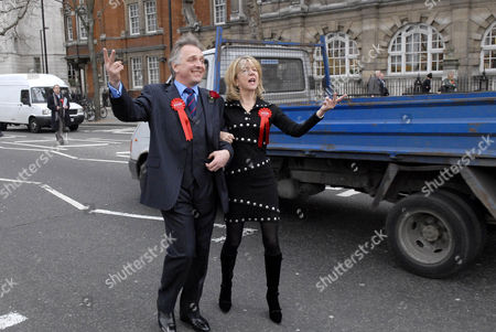 Rik Mayall and Marsha Fitzalan. Mayall is reprising his role as 'Alan B'Stard'. The show will open at the Theatre Royal Brighton.