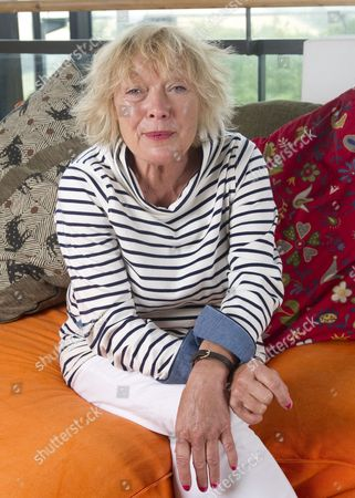 Editorial photo of Children's Author Babette Cole 64 She Was Trampled By Cows In A Field In Devon Three Weeks Ago While She Was Looking At A Property To Buy Oo She Was Nearly Killed. A Neighbour Rachel Hobbs Rescued Her ( Had To Cancel Daughter Is Ill). Babetteoos Sti