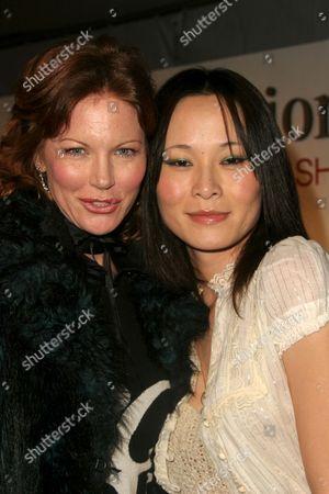 Cynthia Basinet and Helen Wong