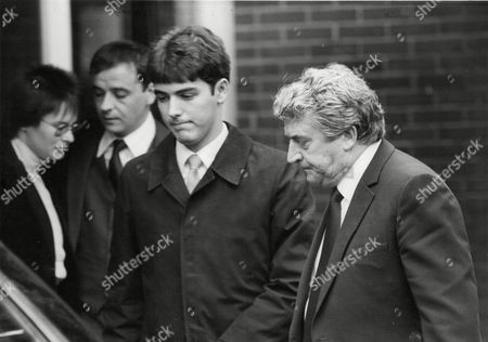 Actor Peter Adamson At The Funeral Of His Wife Jean. Box 680 526041633 A.jpg.