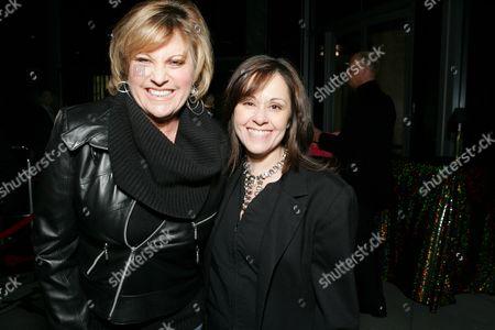 Lorna Luft and Lisa Mordente