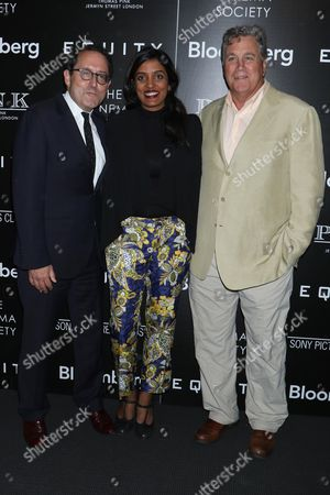 Stock Picture of Michael Barker, Meera Menon and Tom Bernard