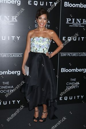 Editorial image of 'Equity' film premiere, Arrivals, New York, USA - 26 Jul 2016