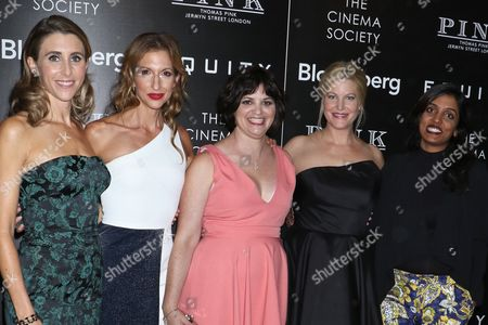 Stock Picture of Sarah Megan Thomas, Alysia Reiner, Amy Fox, Anna Gunn and Meera Menon