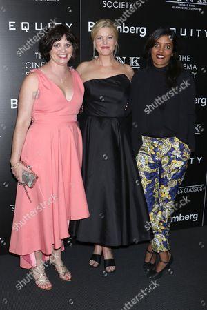 Amy Fox, Anna Gunn and Meera Menon