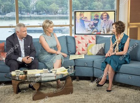 Eamonn Holmes and Ruth Langsford with Kathryn Mewes