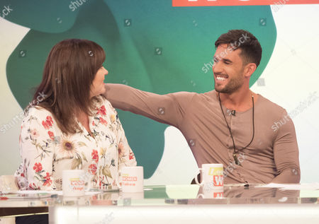 Coleen Nolan and Alex Cannon