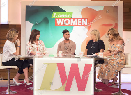 Kaye Adams, Coleen Nolan, Alex Cannon Linda Robson and Vicky Pattison.