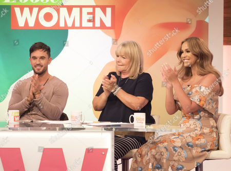 Alex Cannon, Linda Robson and Vicky Pattison