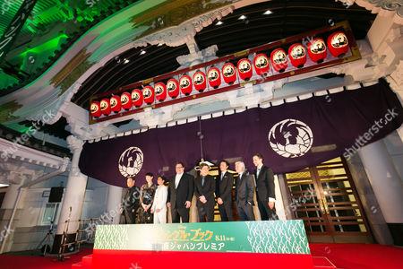 Toshiyuki Nishida, Rie Miyazawa, Neel Sethi, Jon Favreau, Matsumoto Koshiro, Yusuke Iseya, Brigham Taylor and screenwriter Justin Marks
