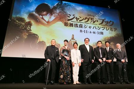 Toshiyuki Nishida, Rie Miyazawa, Neel Sethi, Jon Favreau, Matsumoto Koshiro, Yusuke Iseya and Brigham Taylor