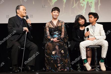 Toshiyuki Nishida, Rie Miyazawa and Neel Sethi