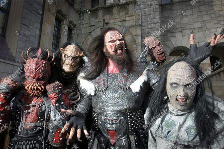 Lordi - Kita, Ox, Lordi (Tomi Putaansuu), Amen, Awa