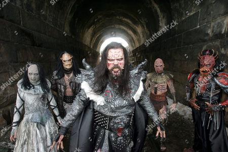 Lordi - Awa, Ox, Lordi (Tomi Putaansuu), Amen and Kita