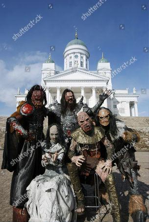 Lordi - Kita, Awa, Lordi (Tomi Putaansuu), Amen and Ox
