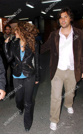Shakira and her boyfriend Antonio de la Rua