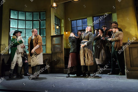 Lloyd Hutchinson (Peter Flynn), Eoin Skattery (Barman), Josie Walker (Mrs Gogan), Justine Mitchell (Bessie Burgess)