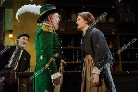 Lloyd Hutchinson (Peter Flynn), Justine Mitchell (Bessie Burgess)