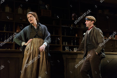 Justine Mitchell (Bessie Burgess), Tom Vaughan-Lawlor (The Covey)