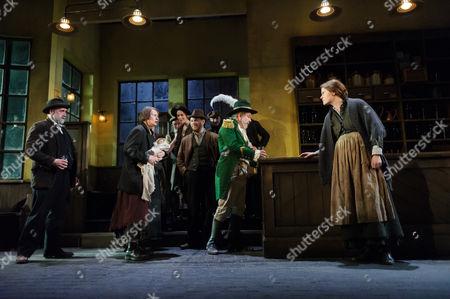 Stephen Kennedy (Fluther Good), Josie Walker (Mrs Gogan), Lloyd Hutchinson (Peter Flynn), Justine Mitchell (Bessie Burgess)