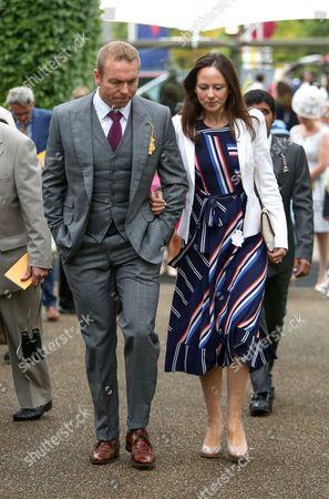 Chirs Hoy and Sarra Kemp The Qatar Goodwood Festival, Megan Ridgwell racingfotos.com