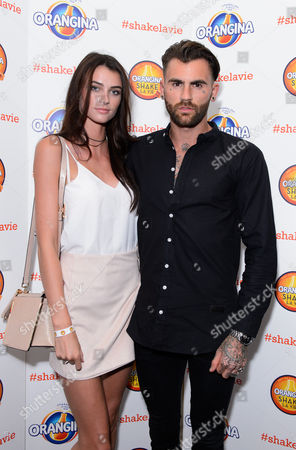 Stock Image of Lucy Gascoyne and Chris Percival