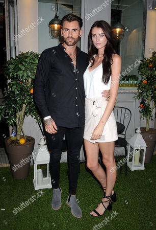 Chris Percival and Lucy Gascoyne