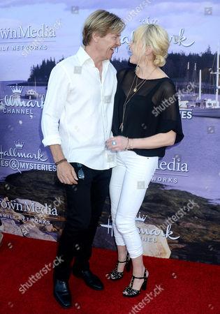 Jack Wagner and Josie Bissett