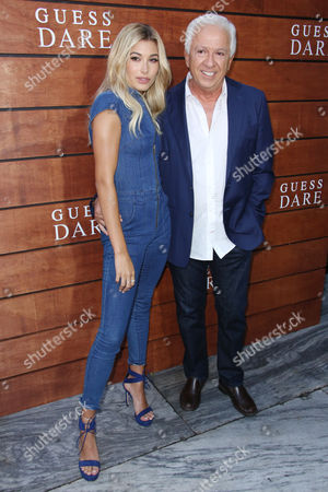 Editorial photo of Guess 'Dare' fragrance launch, Los Angeles, USA - 27 Jul 2016