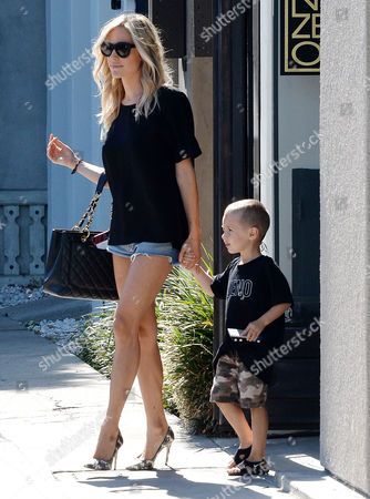 Stock Photo of Kristin Cavallari, Camden Jack Cutler