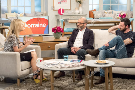 Fiona Phillips, Sean Ward and Andrew Paul