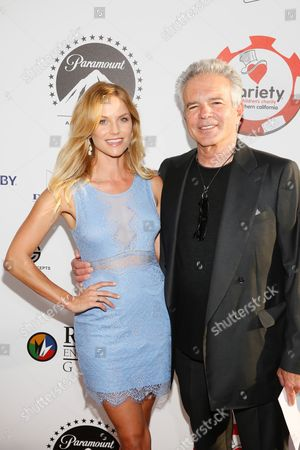 Ellen Hollman and Tony Denison