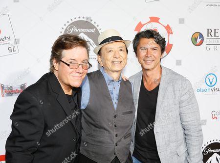 Jamie Gold, James Hong and Lou Diamond Phillips