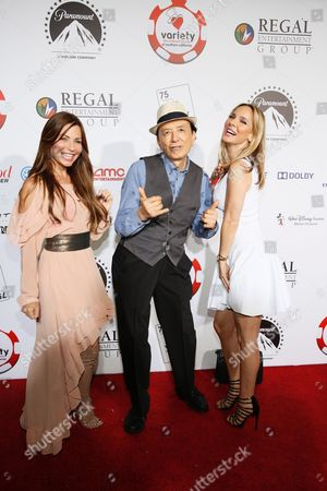 Jenae Alt, James Hong and Simona Fusco