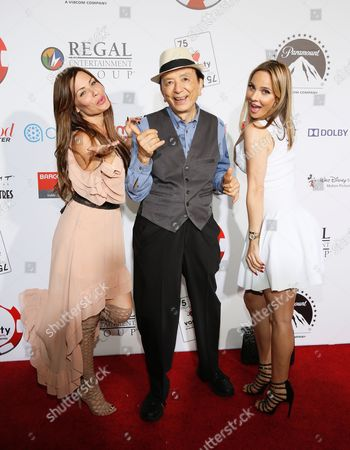 Stock Photo of Jenae Alt, James Hong and Simona Fusco