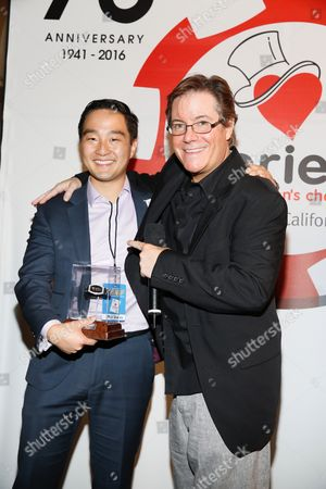 Stephen Seo and Jamie Gold